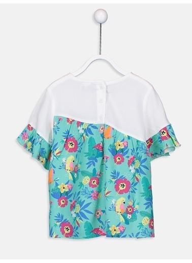 LC Waikiki Bluz Yeşil
